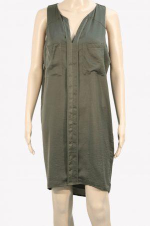 Whistles Kleid in Khaki aus Polyester Frühjahr / Sommer.1