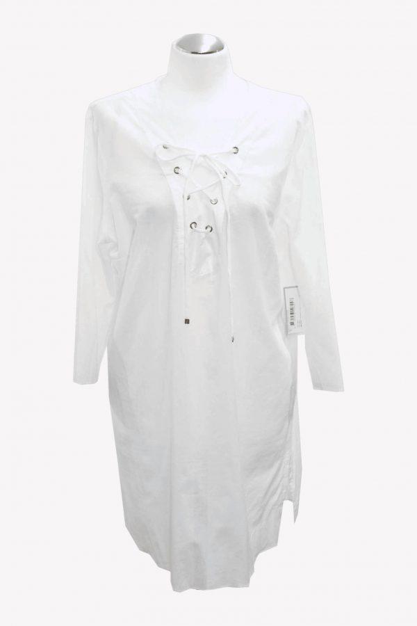 Michael Kors Tunika in Weiß aus Baumwolle Frühjahr / Sommer.1