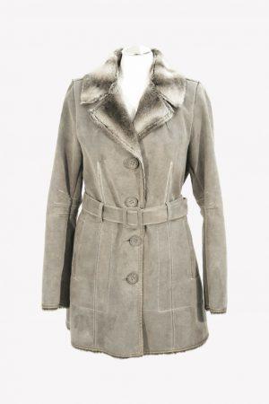 Armani Mantel in Grau aus Modacryl Herbst / Winter.1