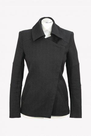 Reiss Mantel in Schwarz aus Polyester Herbst / Winter.1