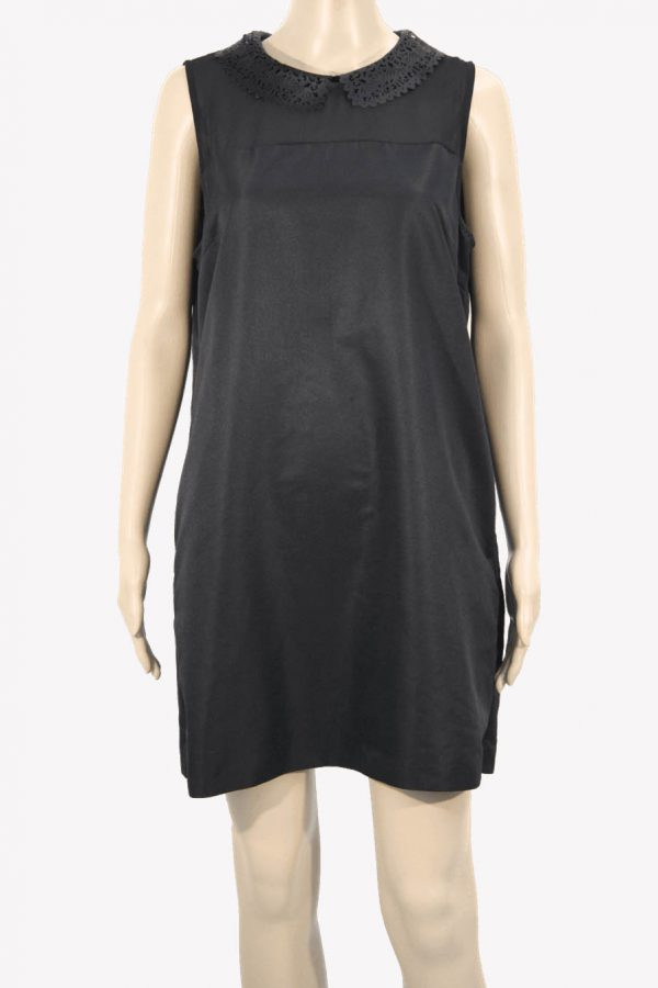 Ted Baker Kleid in Schwarz aus Polyester Alle Jahreszeiten.1