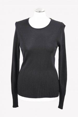 Calvin Klein Pullover in Schwarz aus Viskose Alle Jahreszeiten.1