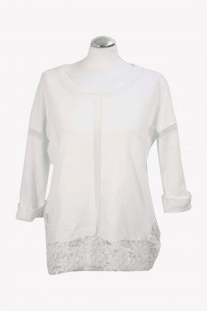French Connection Pullover in Weiß aus Baumwolle Alle Jahreszeiten.1