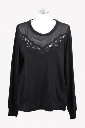 French Connection Pullover in Schwarz aus Baumwolle Alle Jahreszeiten.1