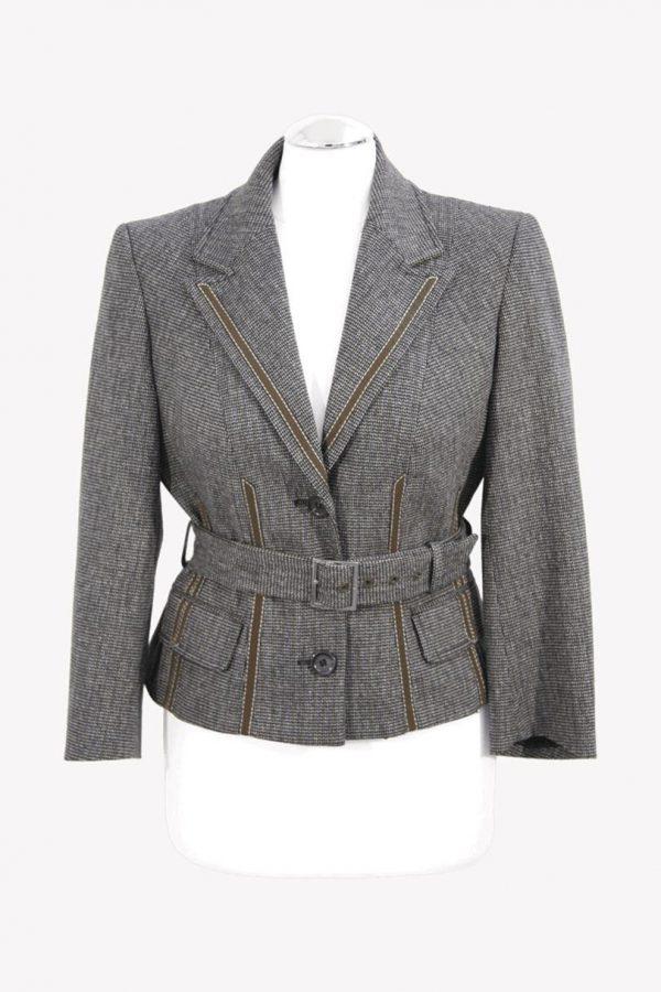 Karen Millen Jacke aus Wolle aus Wolle Herbst / Winter.1