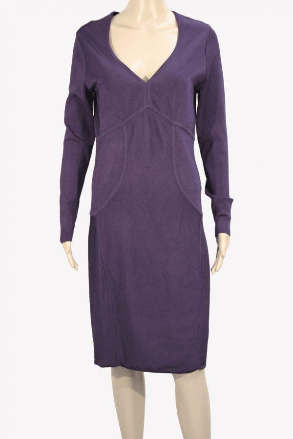 Ted Baker Kleid in Violett aus Viskose Alle Jahreszeiten.1