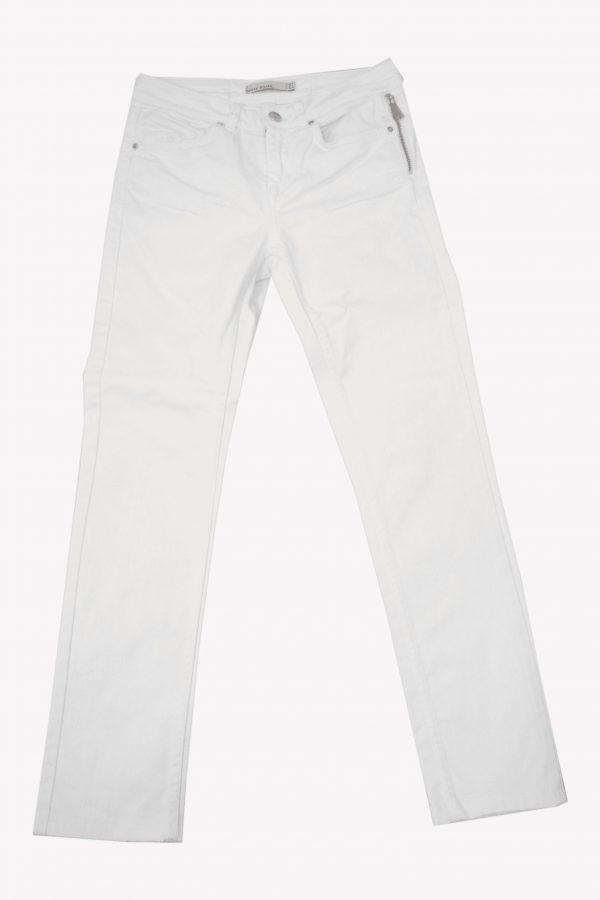 Karen Millen Jeanshose in Weiß aus Baumwolle Alle Jahreszeiten.1