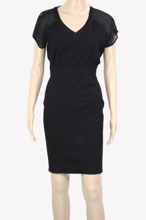 Karen Millen Kleid in Schwarz aus Polyester Alle Jahreszeiten.1