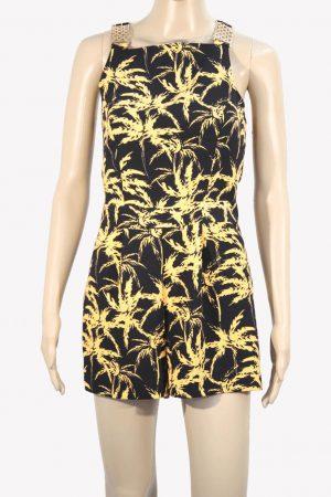 Miss Selfridge Jupmsuit mit Muster aus Polyester Frühjahr / Sommer.1