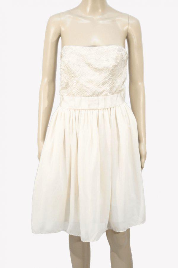 Ted Baker Kleid in Beige aus Polyester Alle Jahreszeiten.1