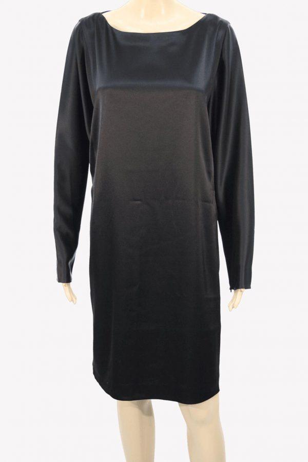 Ralph Lauren Kleid in Schwarz aus Triacetat Alle Jahreszeiten.1