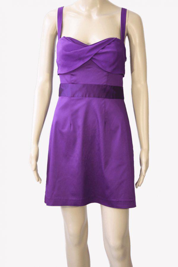 Ted Baker Trägerkleid in Violett aus Acetat Alle Jahreszeiten.1