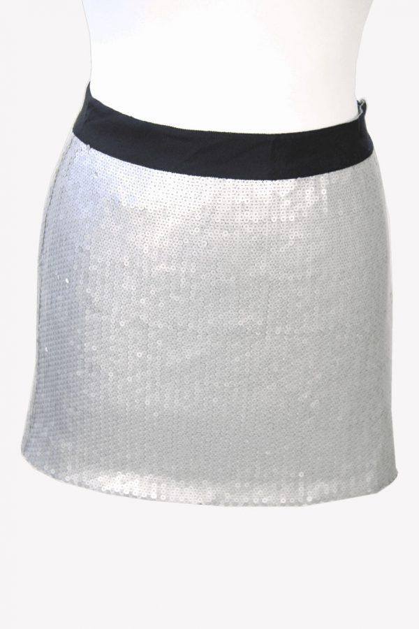 Ted Baker Minirock in Silber aus Nylon Alle Jahreszeiten.1