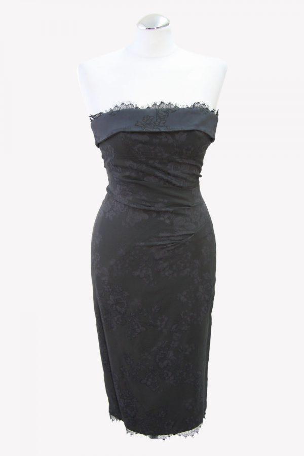 Karen Millen Minikleid in Khaki aus Acetat Alle Jahreszeiten.1