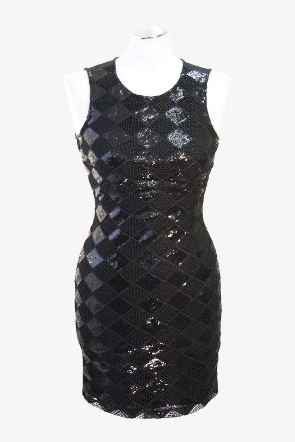 Armani Minikleid in Schwarz aus Polyester Alle Jahreszeiten.1