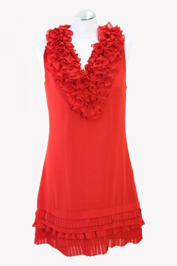Ted Baker Minikleid in Rot aus Polyester Alle Jahreszeiten.1