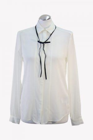 Tommy Hilfiger Bluse in Weiß aus Polyester Alle Jahreszeiten.1