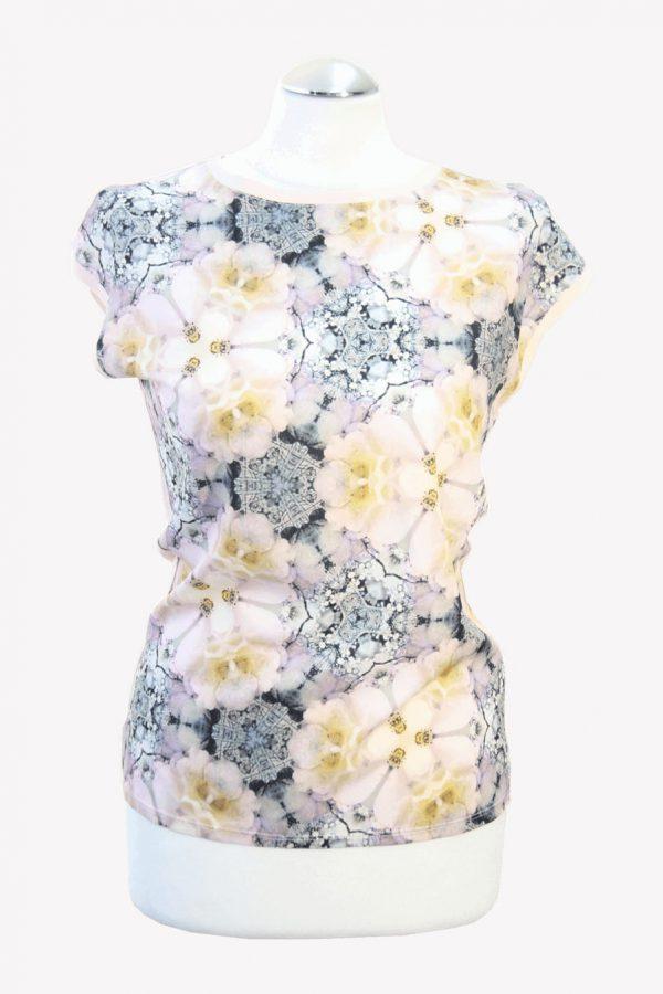 Ted Baker T-Shirt mit Blumenmuster aus Viskose Alle Jahreszeiten.1
