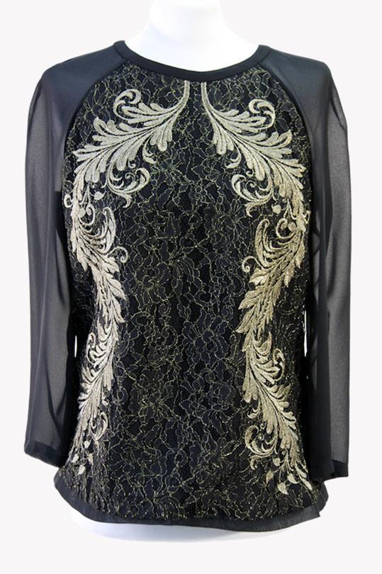Ted Baker Hemdbluse in Schwarz aus Polyester Alle Jahreszeiten.1