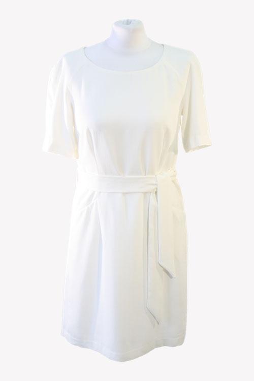 Armani Shiftkleid in Weiß aus Polyester Alle Jahreszeiten.1