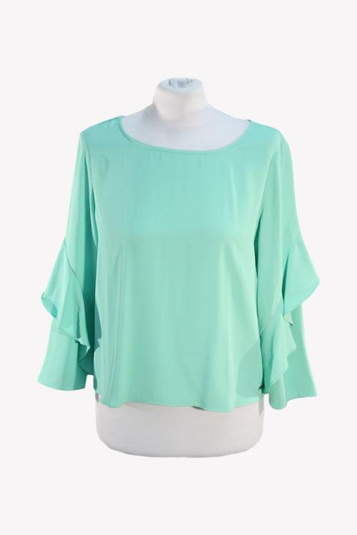 Armani Bluse in Grün aus Polyester Alle Jahreszeiten.1
