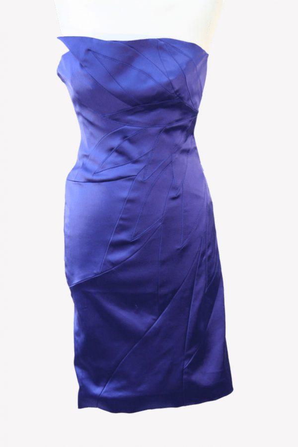 Karen Millen Minikleid in Blau aus Acetat Alle Jahreszeiten.1