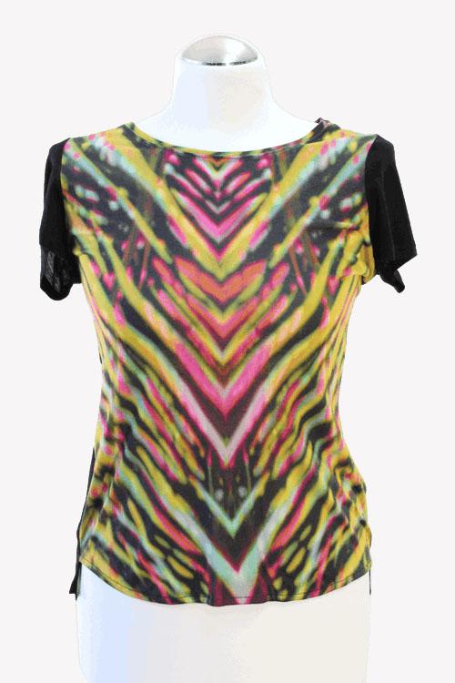 Karen Millen T-Shirt aus Viskose Alle Jahreszeiten.1