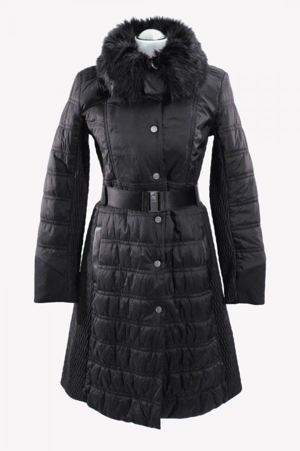 Karen Millen Mantel in Schwarz aus Polyamid Herbst / Winter.1