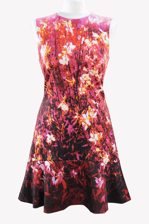 Karen Millen Kleid mit Blumenmuster aus Polyester Alle Jahreszeiten.1