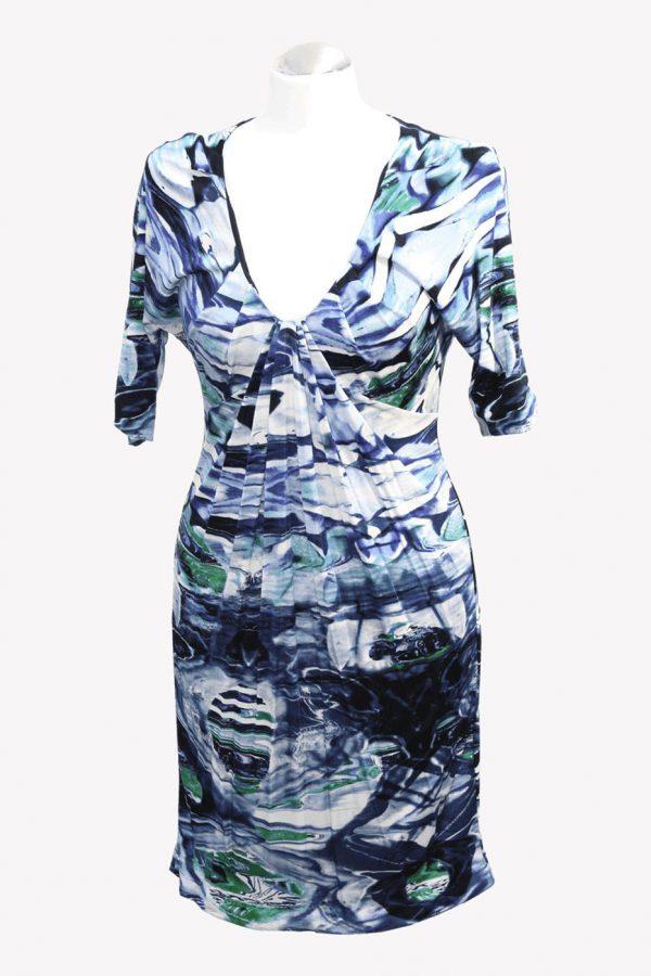 Karen Millen Kleid mit Muster aus Viskose Alle Jahreszeiten.1