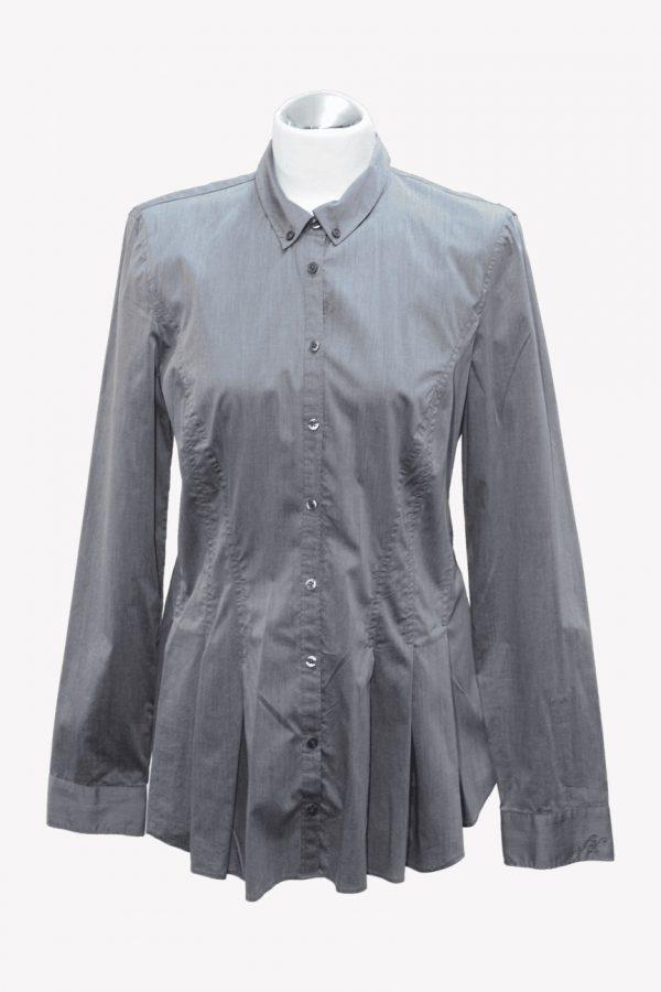 Armani Hemd in Grau aus Baumwolle Alle Jahreszeiten.1