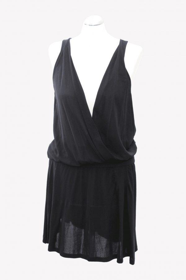 Ted Baker Seidenkleid in Schwarz aus Seide Alle Jahreszeiten.1