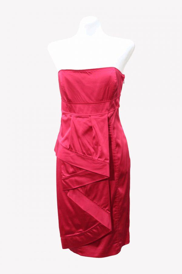 Ted Baker Kleid in Rosa aus Acetat Frühjahr / Sommer.1