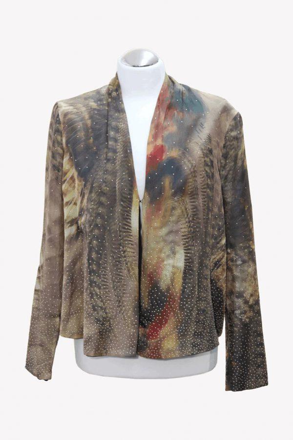 Ted Baker Blazer mit Muster aus Baumwolle Alle Jahreszeiten.1