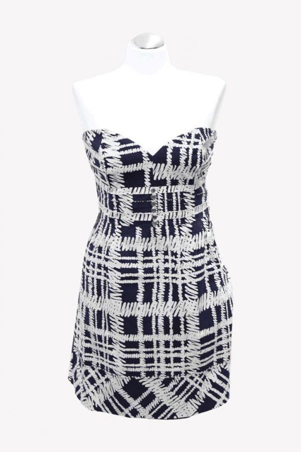 Karen Millen Kleid mit Muster aus Baumwolle Alle Jahreszeiten.1
