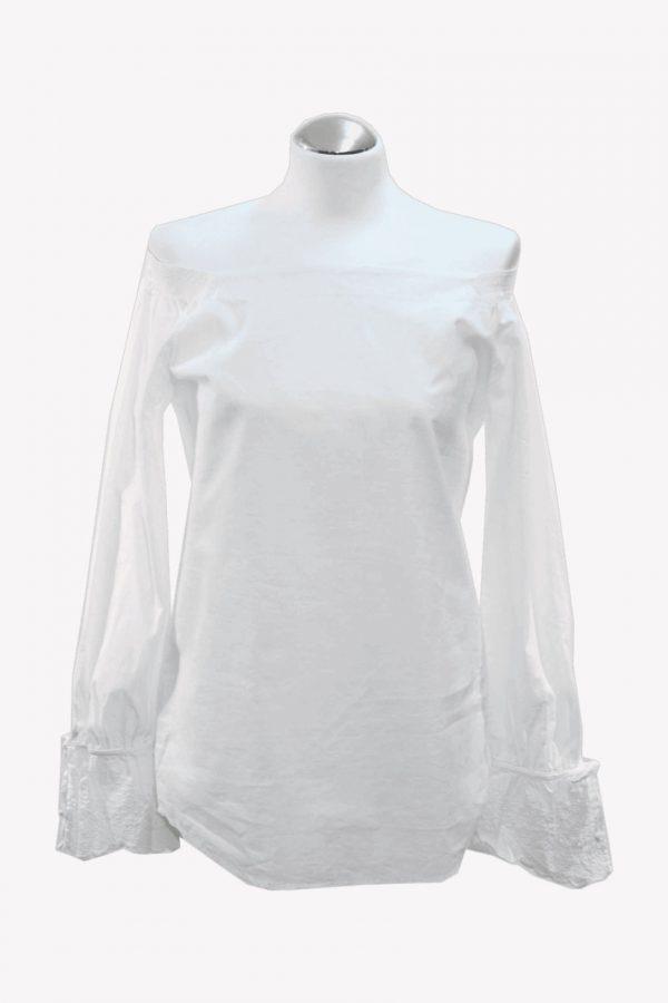 Hugo Boss Hemd in Creme aus Baumwolle Frühjahr / Sommer.1