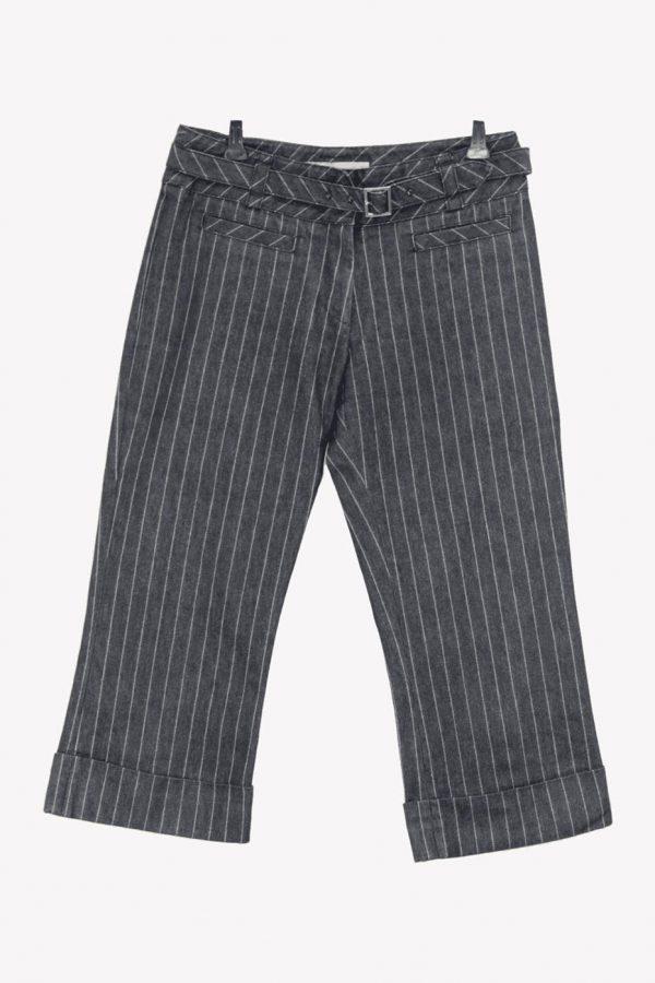Karen Millen Jeanshose in Blau aus Baumwolle Frühjahr / Sommer.1