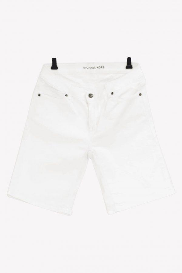 Michael Kors Jeansshorts in Weiß aus Baumwolle Frühjahr / Sommer.1