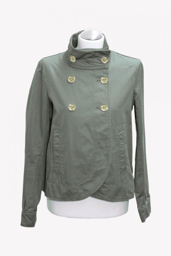 Michael Kors Jacke in Grün aus Baumwolle Alle Jahreszeiten.1