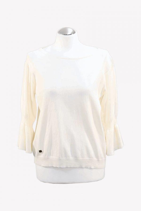 Ralph Lauren Pullover in Creme aus Baumwolle Alle Jahreszeiten.1