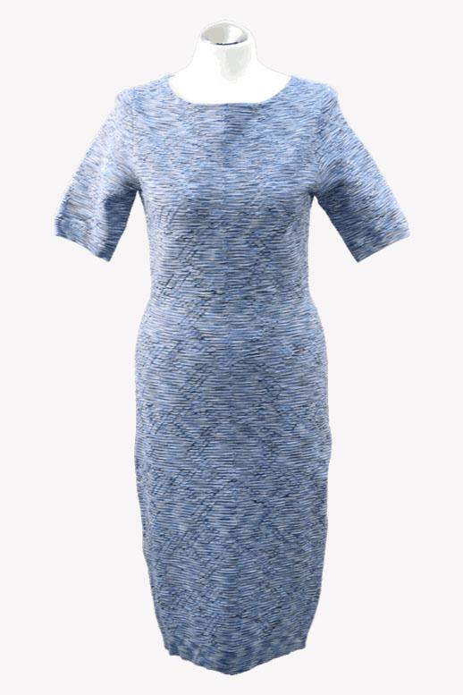 Karen Millen Kleid in Blau aus Viskose Alle Jahreszeiten.1
