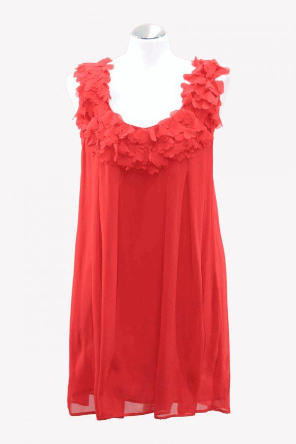 Ted Baker Kleid in Rot aus Polyester Alle Jahreszeiten.1