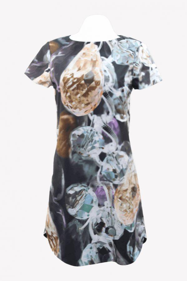 Ted Baker Kleid mit Muster aus Polyester Alle Jahreszeiten.1