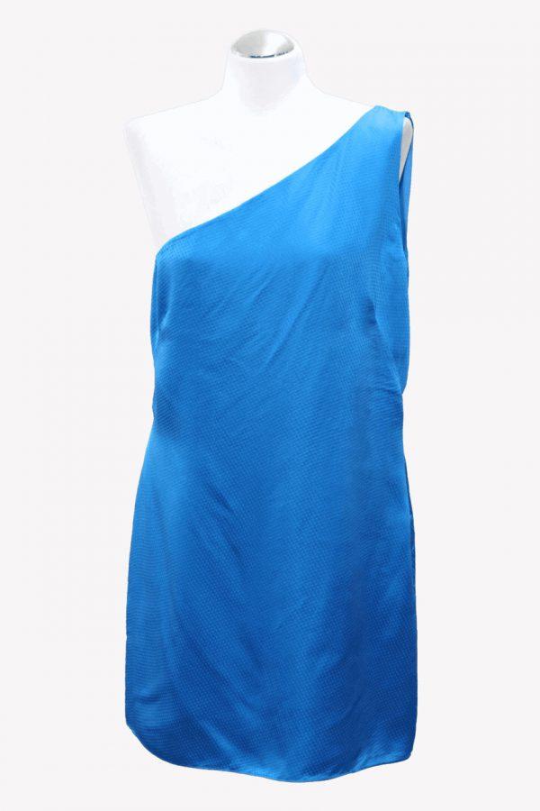 Ted Baker Seidenkleid in Blau aus Seide Alle Jahreszeiten.1