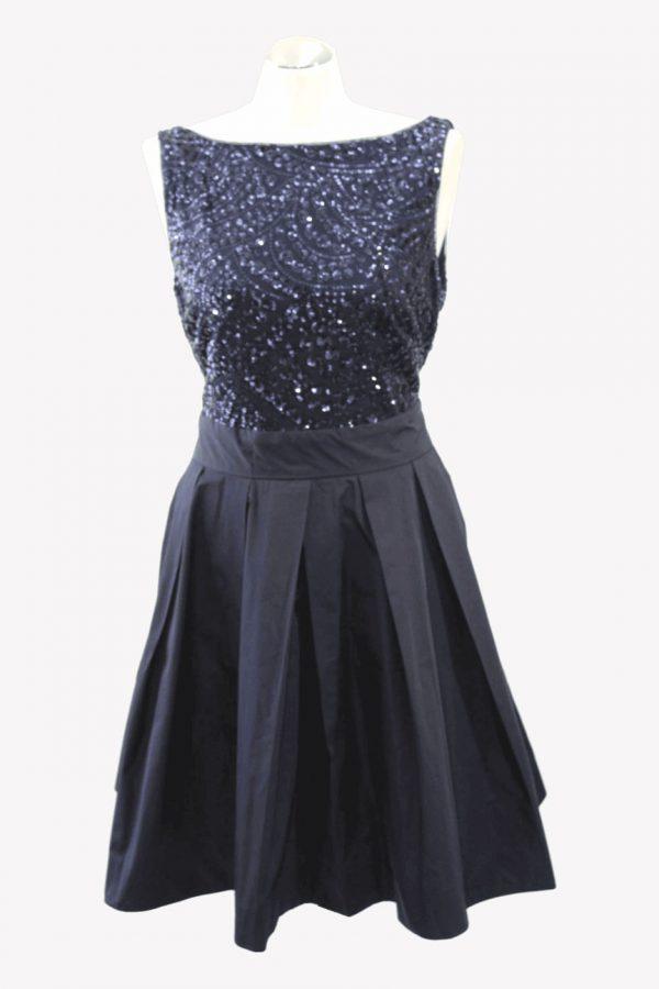 Ralph Lauren Kleid in Dunkelblau aus Polyester Alle Jahreszeiten.1