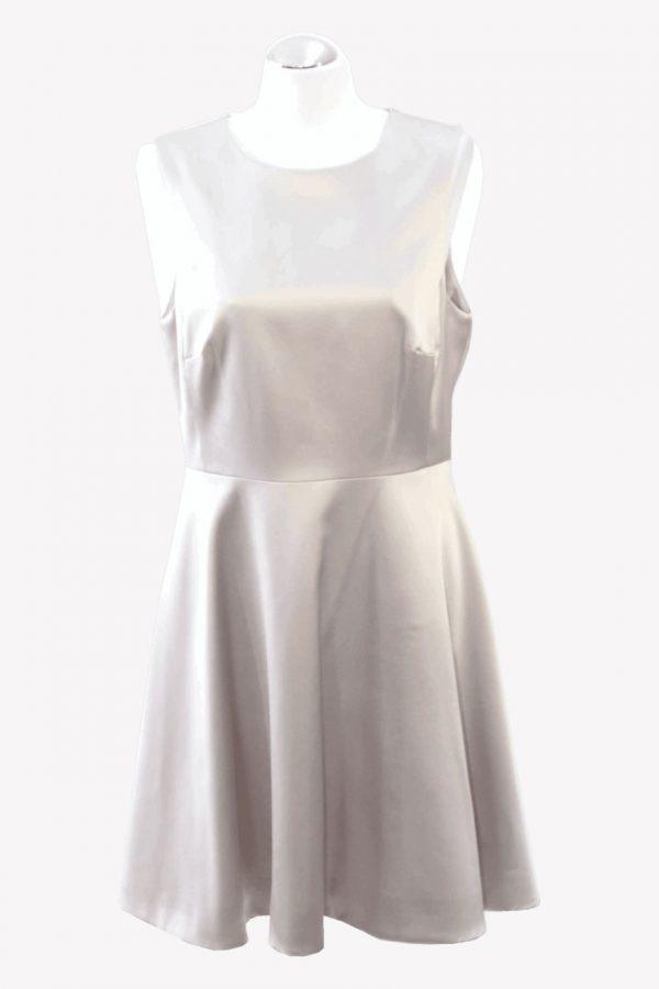 Karen Millen Kleid in Beige aus Triacetat Alle Jahreszeiten.1