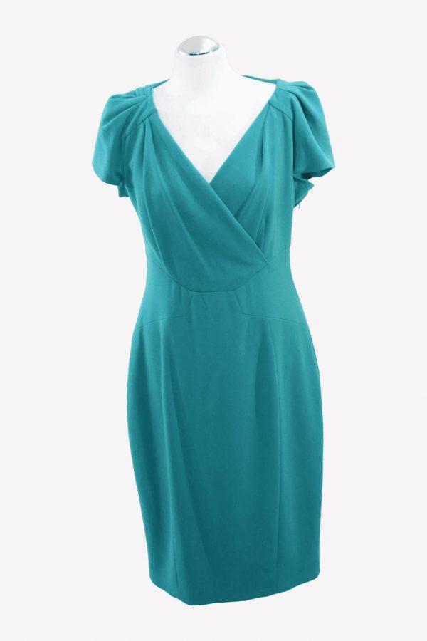 Karen Millen Kleid in Türkis aus Triacetat Alle Jahreszeiten.1