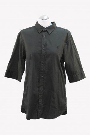 All Saints Hemd in Khaki aus Baumwolle Alle Jahreszeiten.1