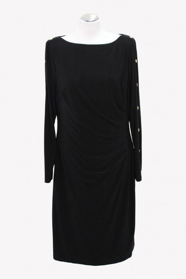 Ralph Lauren Kleid in Schwarz aus Polyester Alle Jahreszeiten.1