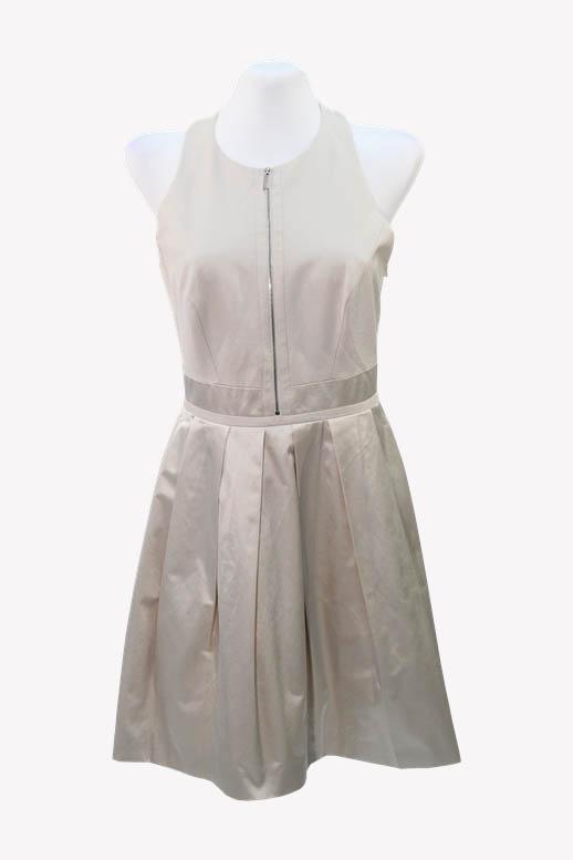 Karen Millen Kleid in Creme aus Baumwolle Alle Jahreszeiten.1